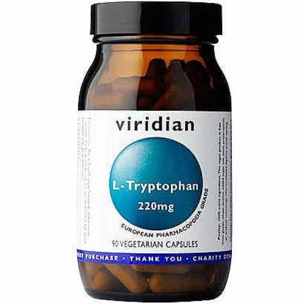 L-Tryptophan (L-Triptofan), Viridian, 30 kapsul