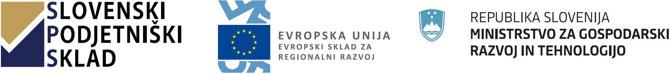 sofinanciranje Republika Slovenija in Evropska unija